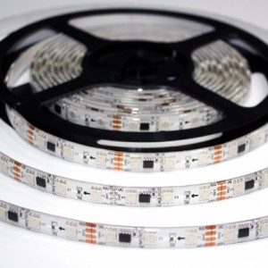 Taśma WS2811 magic RGB 300 LED SMD5050 IP65 5m